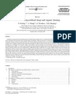 Arbuscular mycorrhizal fungi and organic farming