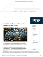 Recubrimientos Basados en Nanopartículas Para Aplicaciones Offshore