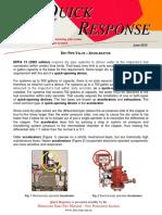 QR 0610 Dry Pipe Valve - Accelerator