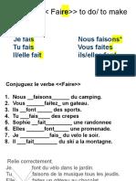 Le verbe -- Faire-- to do- to make.pdf