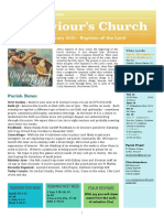 st saviours newsletter - 10 jan 2021  baptism of the lord