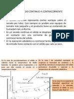 P0 - A10 9.10.D  Secado continuo a Contracorriente
