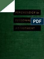 Psychology of  personal adjustment