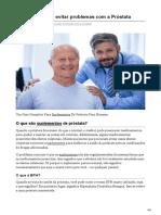 Tookmed.com-O Que Fazer Para Evitar Problemas Com a Próstata