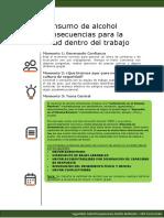 Consumo de alcohol Consecuencias para la salud dentro del trabajo