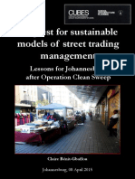 (2015)In quest for sustainable models of street trading management