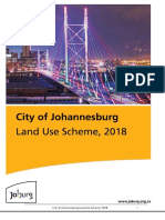 (2018)City of Johannesburg Land Use Scheme - FINAL 2018