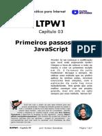 03 - Primeiros passos com JS