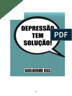 Depressão tem cura - Gui Oss