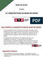 S01. s2 - LA ARQUITECTURA DE BASES DE DATOS