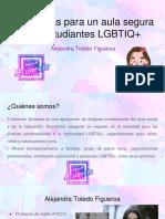 Fundación Acuarela (2020). Estrategias Para Un Aula Segura Con Estudiantes LGBTIQ+