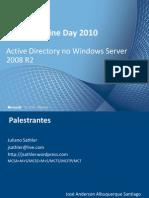 Active Directory no Windows Server 2008 R2
