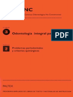 Curso III Odontologia integral para ninios II. Modulo 2 Problemas periodontales y criterios quirurgicos