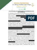 Acta Notarial de Nombramiento de Albacea05