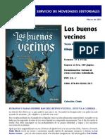 Novedad - Los Buenos Vecinos