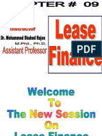 Ch-9 Lease Finance