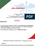 6.cours néphropathie diabétique