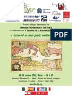 Programme colloque 28.-29.10.2015