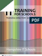 Training Directory 2011-2012