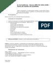Curso de Formação de Auditor Interno ISO 9001:2008