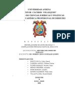 13.- RECOPILACIONES DE LAS LEYES DE INDIAS Y COMPILACIONES PERUANAS HASTA EL SIGLO XVII.