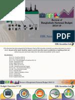 Bangladesh National Budget Review 2018-19