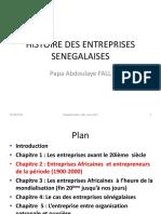 Histoire des entreprises sénégalaises par Papa Abdouaye FALL partie 3