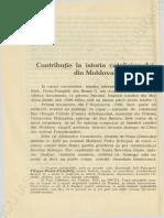 Mesrobeanu, Anton, Contributie La Istoria Catolicismului Din Moldova, Articol 1928