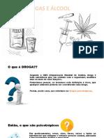 Apresentação combate as drogas