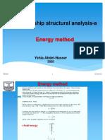 AEnergy method(10,11)