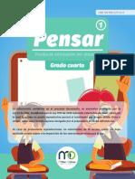 PENSAR 1 GRADO 4 CUADERNILLO