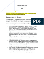 EXAMEN DE BASE DE DATOS uno