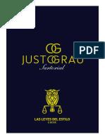 E-book Las Leyes del Estilo - Justo Grau Sartorial