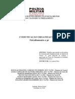 PATRULHAMENTO A PÉ - COMUNICAÇÃO ORGANIZACIONAL