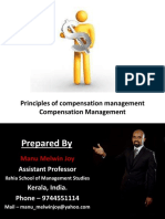 Principles of Compensation Management