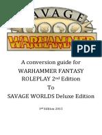 Savage Warhammer V3 (2014)