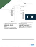 Your Crossword Puzzle
