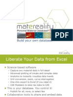 Personal Material Database - Matereality