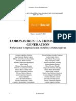 coronavirus crisis de una generacion reflexiones criminologicas