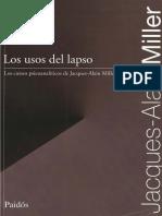 Los usos del lapso - Jacques Alain Miller.pdf