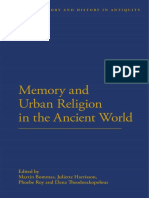 [Cultural Memory and History in Antiquity] Martin Bommas, Juliette Harrisson, Phoebe Roy, Elena Theodorakopolous - Memory and Urban Religion in the Ancient World (2014, Bloomsbury Academic) - libgen.lc