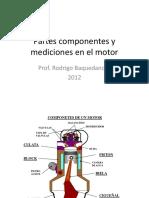 Partes Componentes y mediciones en el Motor.pdf