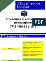 BEF TP Procédures et constantes pédagogiques  S1-M5- S5 S11