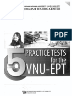 5 Practice Tests for the Vnu