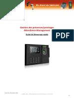 Gestion des présences_pointages Attendance Management Guide de démarrage rapide.pdf