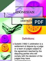 Arbitrase Indonesia
