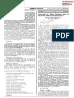 Mesa Ejecutiva para el Desarrollo del Sector Gastronómico