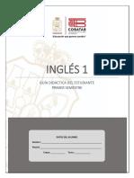 Primer Semestre.- Guía Didáctica del Estudiante.- Inglés I-1