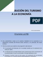 t4 La Contribución Del Turismo a La Economía