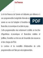 Lois des finances et principes budgetaires_p06
